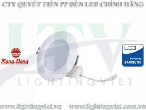Đèn LED âm trần 7W Rạng đông