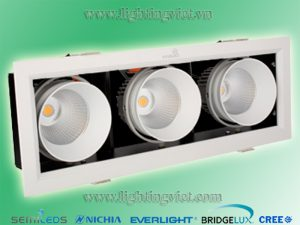 Đèn led downlight hộp 30w