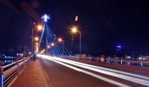 Đèn led chiếu sáng công trình đường giao thông