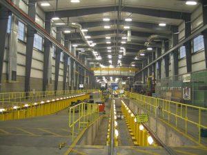 Đèn led chiếu sáng nhà xưởng công nghiệp khu vực chung