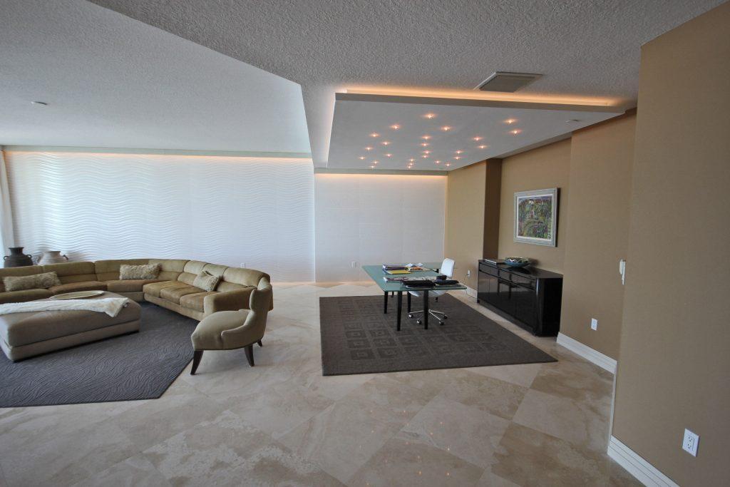 Đèn led chiếu sáng nhà ở, chung cư phòng khách