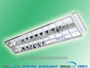Máng đèn led âm trần tán quang 2x1.2m