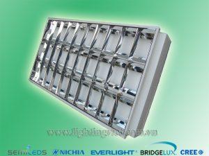 Máng đèn led âm trần tán quang 3x1.2m