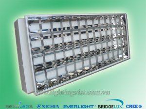Máng đèn led âm trần tán quang 4x1.2m