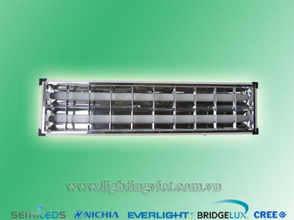 Máng đèn led nổi tán quang 2x1.2m