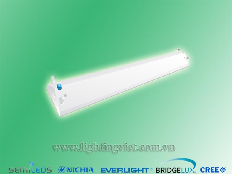 Máng đèn Vshape đôi 2x1.2m Paragon