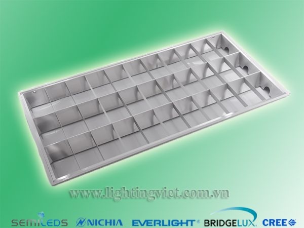Máng đèn led nổi tán quang 3x1.2m
