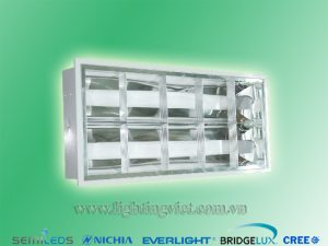 Máng đèn led nổi tán quang 2x0.6m