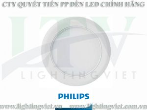 Đèn downlight âm trần LED Philips MARCASITE 59521 Φ100 9W 65K WH recessed