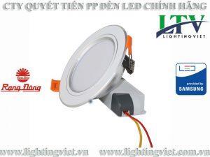 đèn led âm trần 7W đổi màu AT10L 90/7W