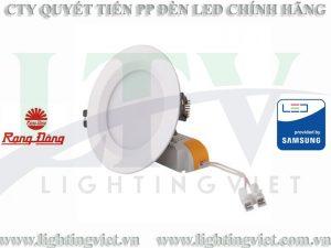 đèn led âm trần đổi màu 7W