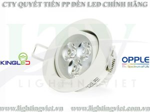 ĐÈN LED SPOTLIGHT 3W DLR-3-T85 KINGLED