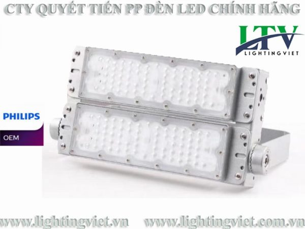 Đèn Pha Led 100W Modular Chipled Philips