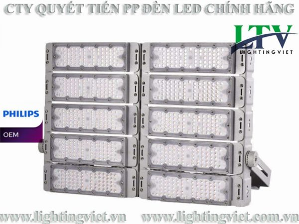 Đèn Pha Led 500W Modular Philips