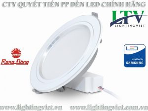 Đèn led âm trần 12w đổi màu AT10L DM 110/12W