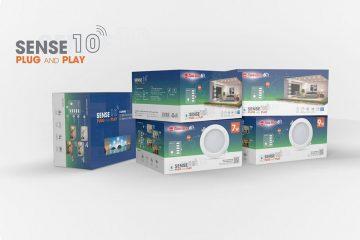 Combo 10 bộ đèn âm trần thông minh rạng đông